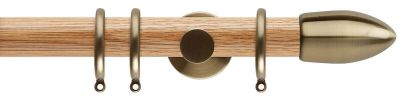 Rolls Neo Bullet 35mm Wooden Curtain Poles