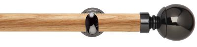 Rolls Neo Ball 28mm Wooden Eyelet Curtain Poles