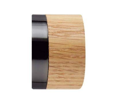 Rolls Neo Oak Stud 35mm Curtain Pole Finials (Pair)