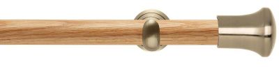 Rolls Neo Trumpet 28mm Wooden Eyelet Curtain Pole