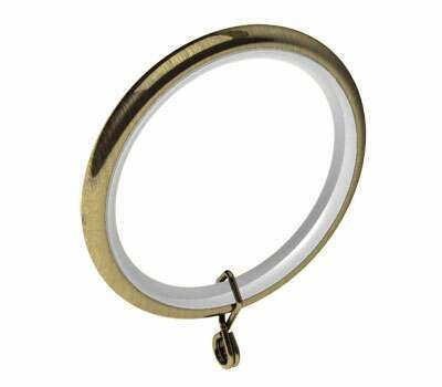 Swish Design Studio Standard Curtain Rings for 28mm Poles (4 per pack)
