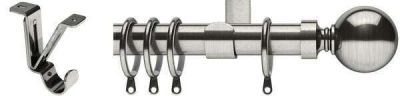 Swish Elements Belgravia 28mm Metal Curtain Poles (Ceiling Fix)