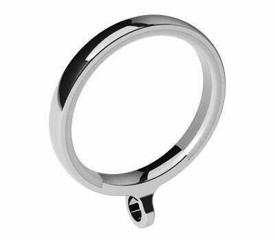 Swish Design Studio Luxury Curtain Rings for 28mm Poles (4 per pack)