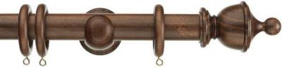 Swish Naturals Urn 35mm Wood Curtain Poles