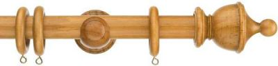 Swish Naturals Urn 28mm Wood Curtain Poles