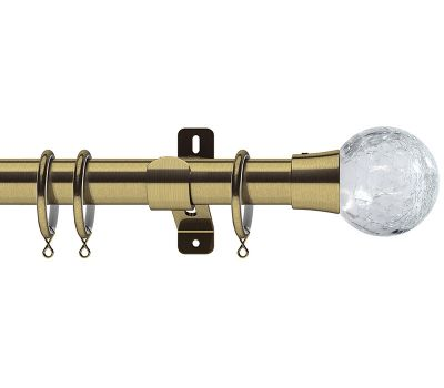 Swish Design Studio 28mm Gossamer Metal Curtain Pole
