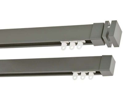 Cameron Fuller Collar System 30 Hand Bendable Double Curtain Track (Ceiling Fix)
