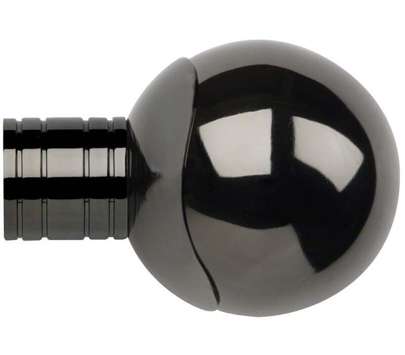 Galleria Orb Finial for 35mm Curtain Poles