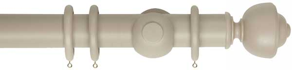 Museum Asher 55mm Wooden Curtain Poles