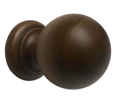 Rolls Modern Country Ball Finial for 45mm Curtain Poles