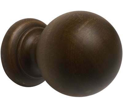 Rolls Modern Country Ball Finial for 55mm Curtain Poles