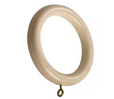 Rolls Modern Country Curtain Rings for 45mm Curtain Poles (6 per pack)