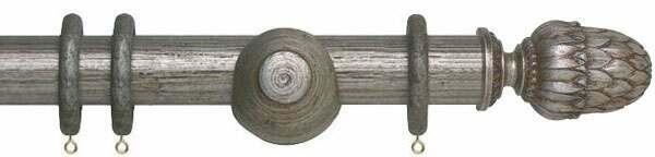 Museum Pantheon 45mm Wooden Curtain Poles