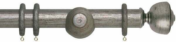 Museum Asher 45mm Wooden Curtain Pole