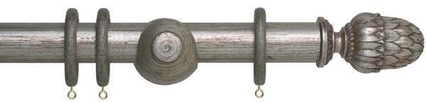 Museum Pantheon 35mm Wooden Curtain Poles