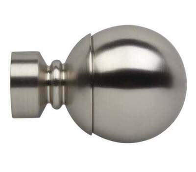 Rolls Neo Ball Finials for 28mm Curtain Poles (Pair)
