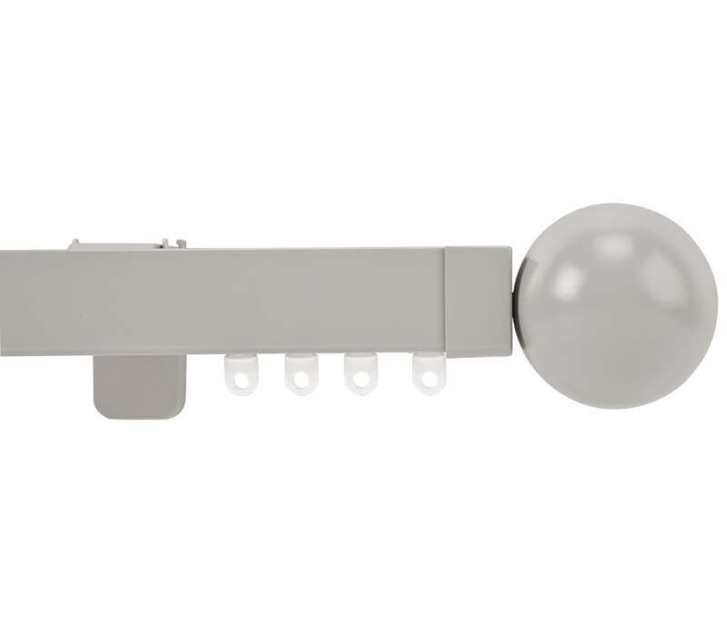 Cameron Fuller Ball System 30 Hand Bendable Curtain Track (Wall Fix)