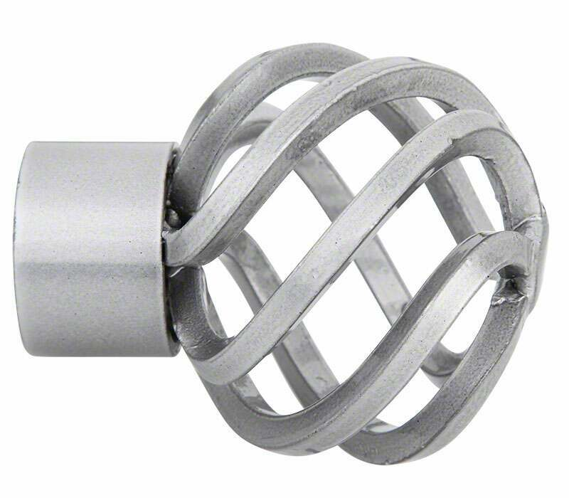 Cameron Fuller Metal Basket Finial for 32mm Curtain Poles