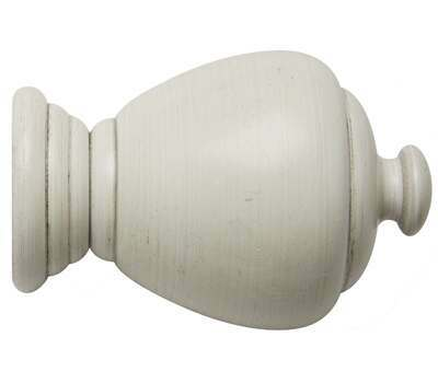 Rolls Modern Country Sugar Pot Finial for 55mm Curtain Poles