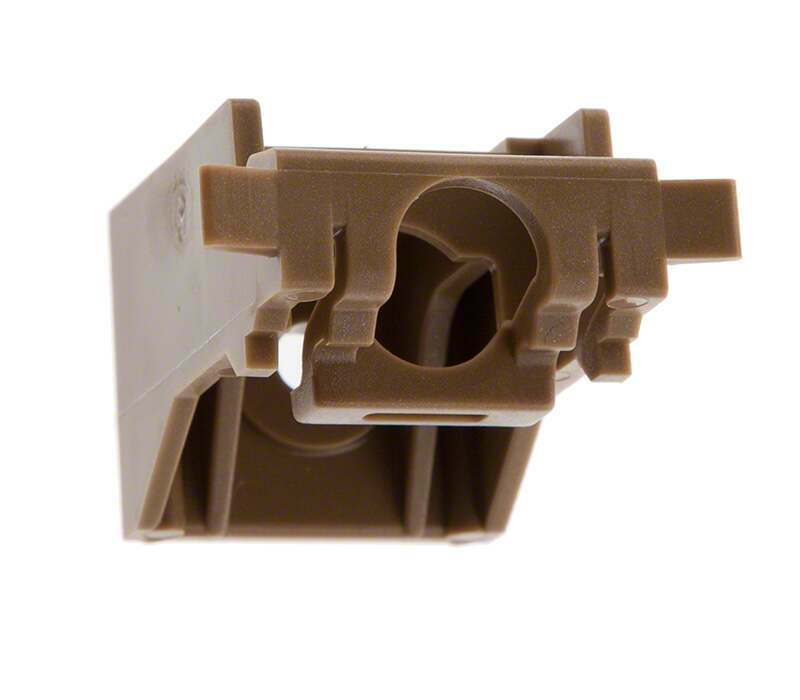 Silent Gliss 3630 Universal Curtain Track Bracket (wall or ceiling fix)