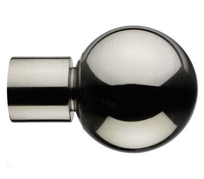 Integra Inspired Sphera Finial for 28mm Curtain Poles
