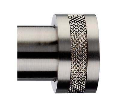 Integra Inspired Textura Finial for 28mm Curtain Poles
