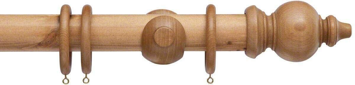 Cameron Fuller 50mm Oriental Wood Curtain Pole