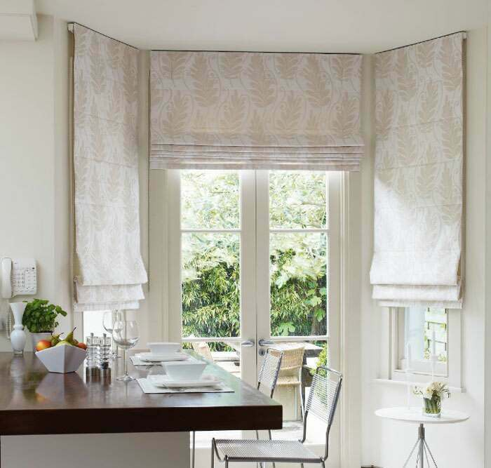 Classy Roman Blinds perfect in the bedroom