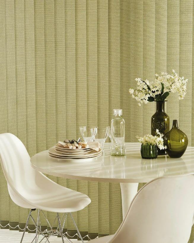 perfect blinds for a dining room