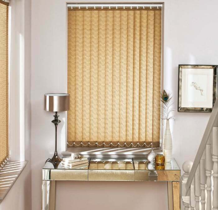 Luxury Blinds in a hallway