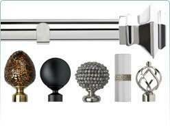 Speedy 28mm eyelet curtain poles and accessories