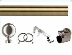 Speedy 28mm mix and match curtain poles and accessories