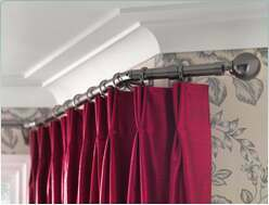 Swish Metal Bay Curtain Poles