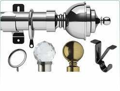Beatiful quality of the Swish 35mm Elements of curtain poles