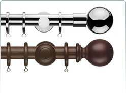 curtain poles by type