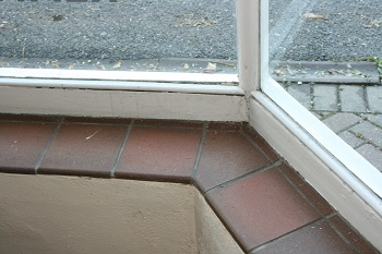 How to make a bay window template