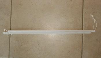Bay window curtain track bending bars
