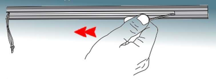 How to bend curtain track