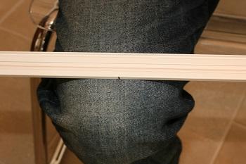 Bending a bay window track