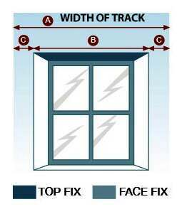 Measure the window width for the track