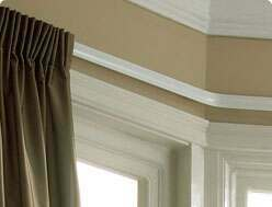 Bay Window Curtain Pole Ideas
