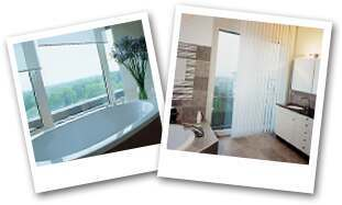 Bathroom blinds and design ideas