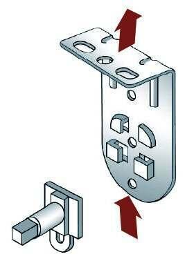 Fitting Roller blind brackets