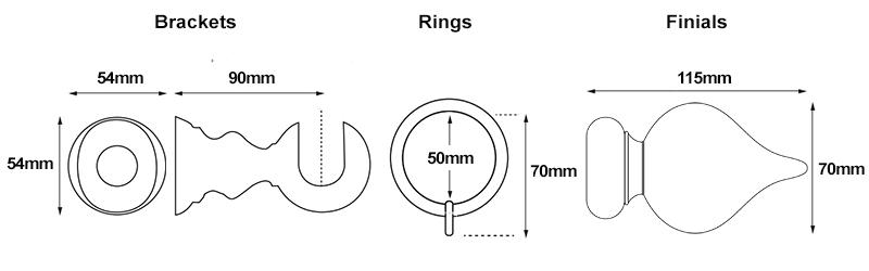Cameron Fuller 35mm Peardrop Measurements