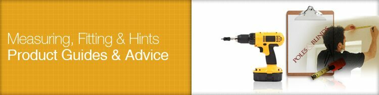 guides to all our curtain poles, blinds and curtains